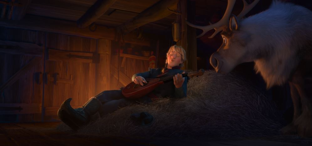 Kristoff  ♪Reindeers are Better than People♪