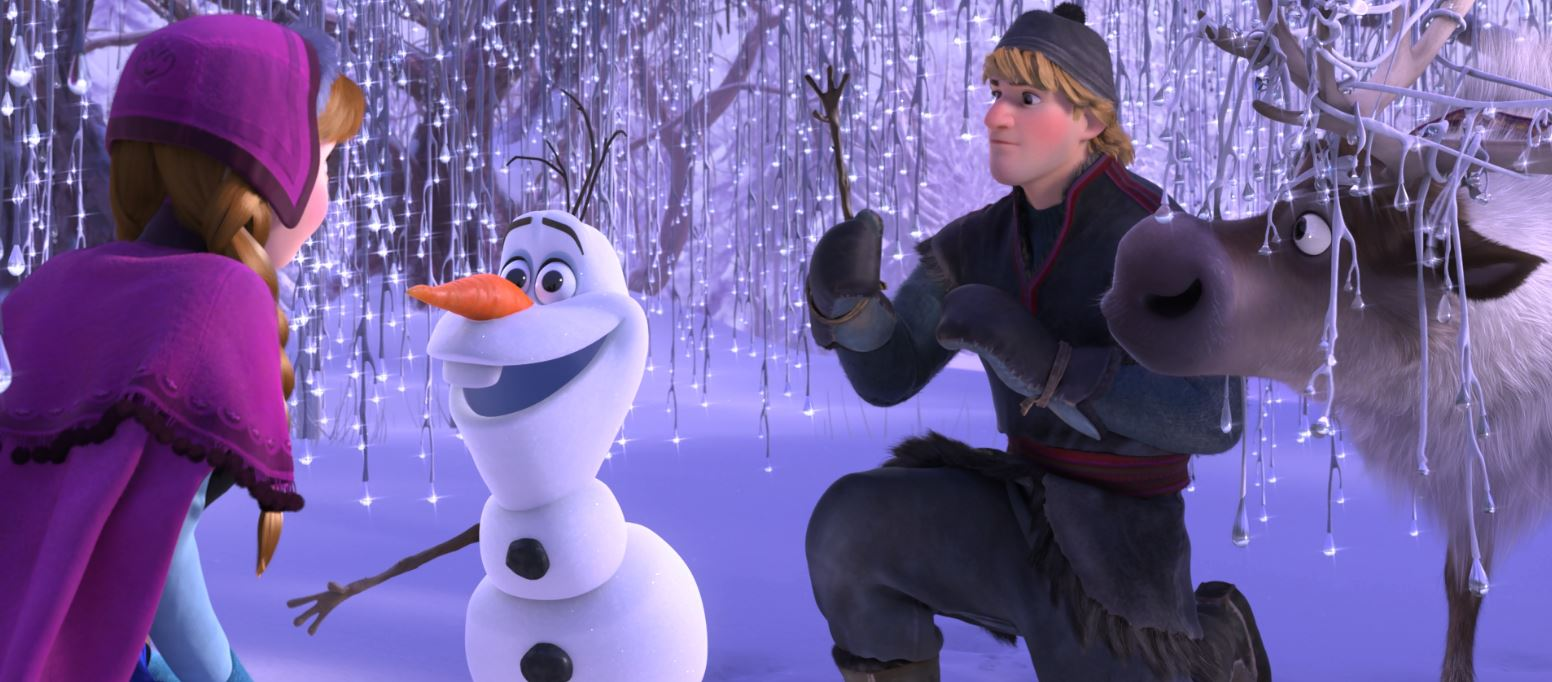 Anna: Olaf, did Elsa build you?