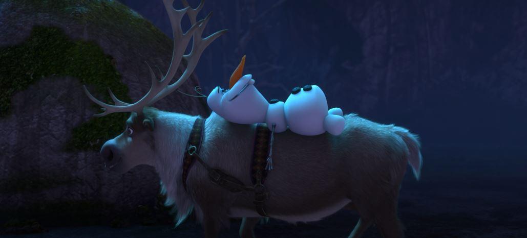 Look, Sven, the sky is awake.